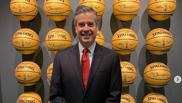 """Álvaro Martín: """"La NBA, al parar la liga, fue el campanazo que necesitó Estados Unidos para alertarse por el COVID-19″   Foto: Instagram Álvaro Martín"""