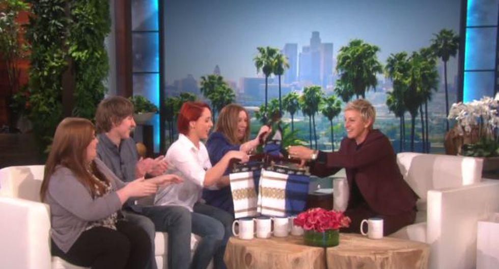 """YouTube: Ellen DeGeneres y dueña de fenómeno """"The Dress"""" juntas"""
