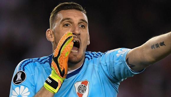 Franco Armani también dio positivo a coronavirus antes del Boca Juniors vs. River Plate. (Foto: EFE)