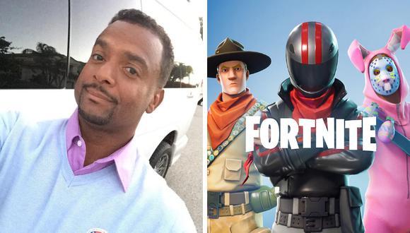 Alfonso Ribeiro es la celebridad más reciente en pegar el grito al cielo contra los creadores del popular videojuego Fortnite. (Foto: @therealalfonsoribeiro en Instagram/EPIC Games)