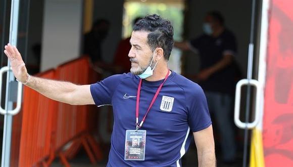 Daniel Ahmed dirigió Alianza Lima tras la salida de Mario Salas. (Foto: Liga 1)