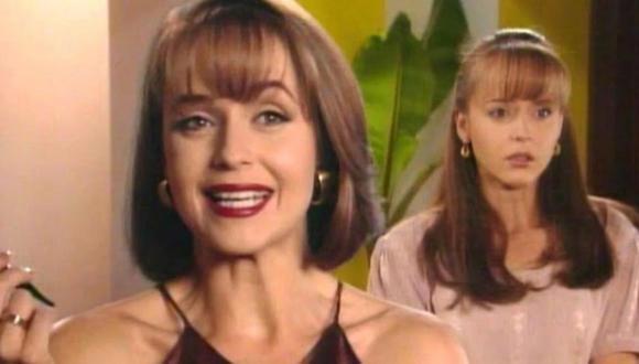 En este melodrama, Gaby Spanic interpretó dos papeles, los de las hermanas gemelas Paulina y Paola (Televisa)