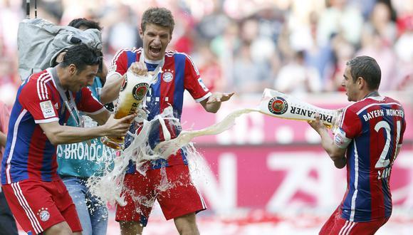 Claudio Pizarro empezó su carrera en el fútbol europeo en 1999. (Foto: AP/Matthias Schrader)