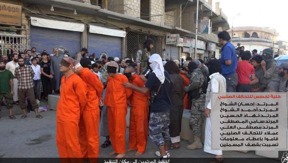 El Estado Islámico convocó a los ciudadanos a presenciar la muerte de los jugadores de fútbol en Siria. (Foto: Twitter)
