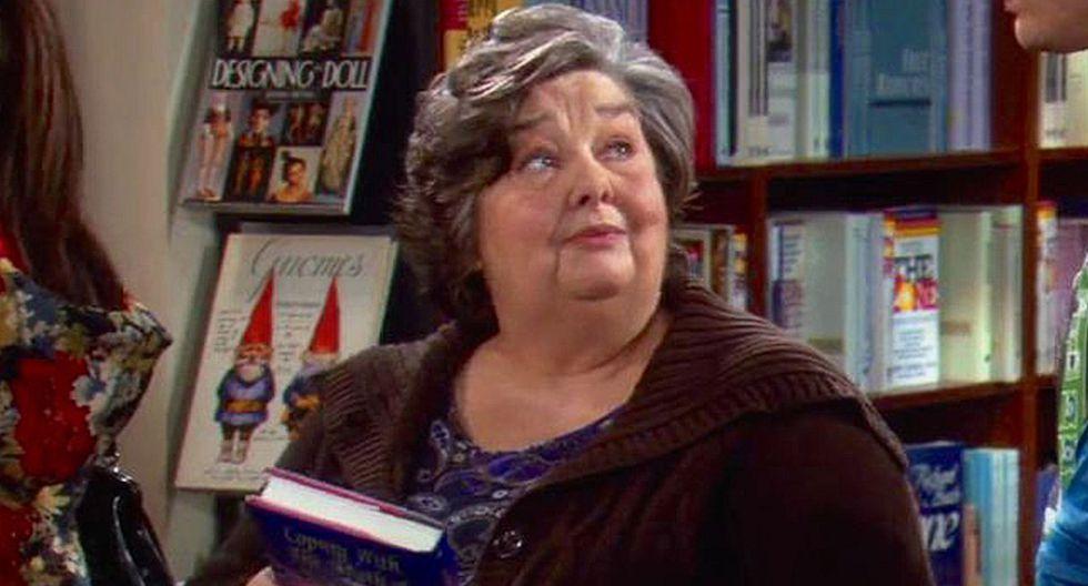 """Jane Galloway Heitz, actriz de """"Glee"""" y """"The Big Bang Theory"""", falleció a los 78 años. (Foto: CBS)"""