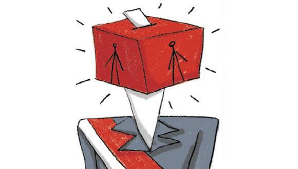 """""""Sin un plan de trabajo establecido, las promesas electorales no tienen límites"""". (Ilustración: Giovanni Tazza)"""