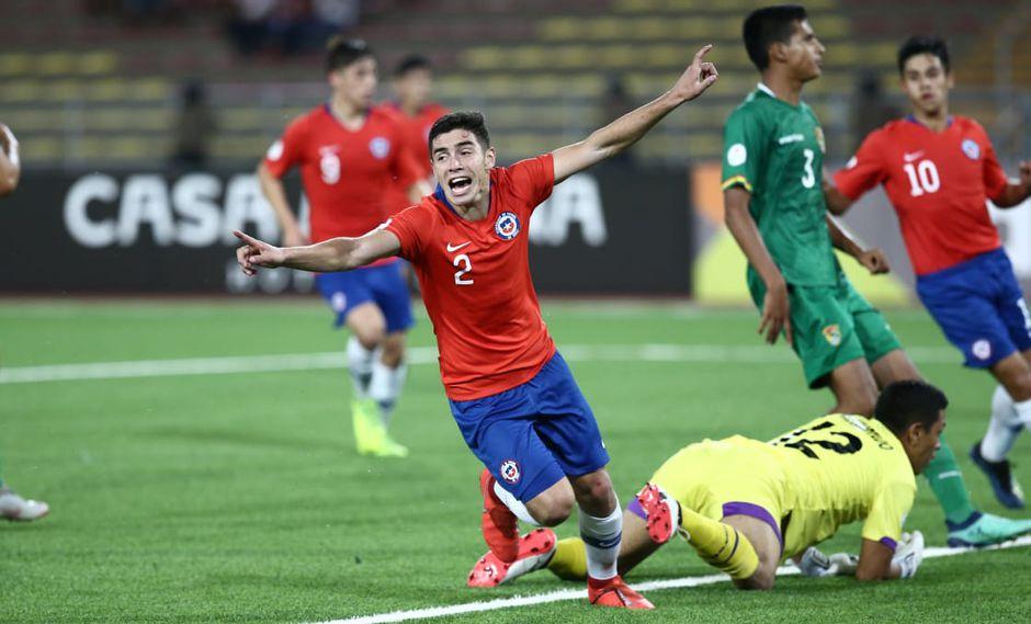 Chile goleó 4-0 a Bolivia y clasificó al hexagonal final del Sudamericano Sub 17. (Foto: Jesús Saucedo / GEC)