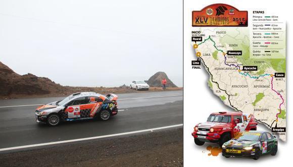 Caminos del Inca: el mapa de la carrera con la nueva ruta 2015