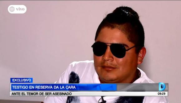 Testigo en reserva de uno de los casos contra César Álvarez revela su identidad y pide resguardo porque teme por su integridad. (Captura: Domingo al Día)
