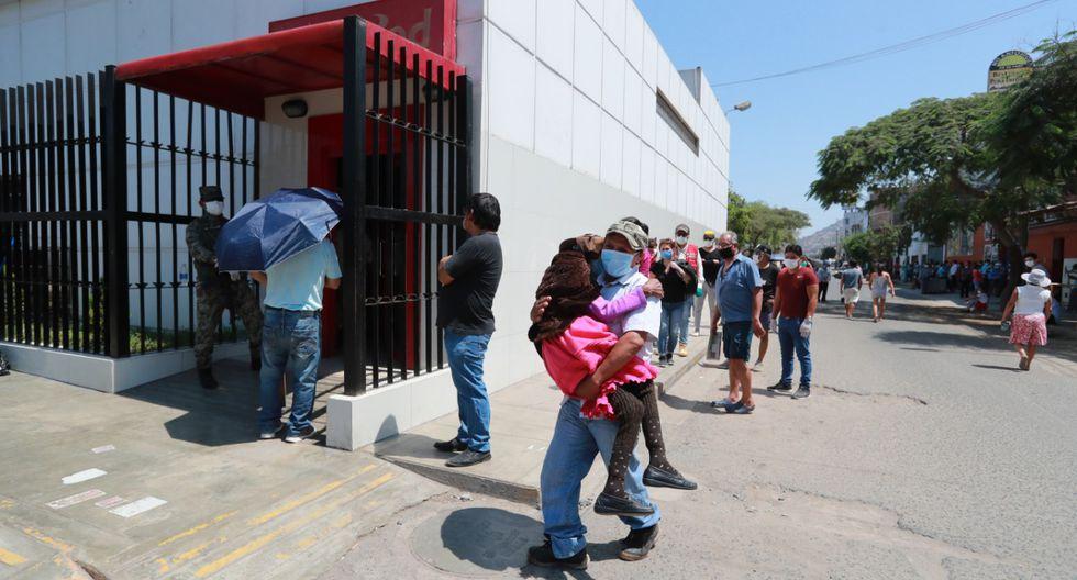 La historia de unas fotos que demuestran la humanidad en Estado de Emergencia (Foto: Lino Chipana/El Comercio).