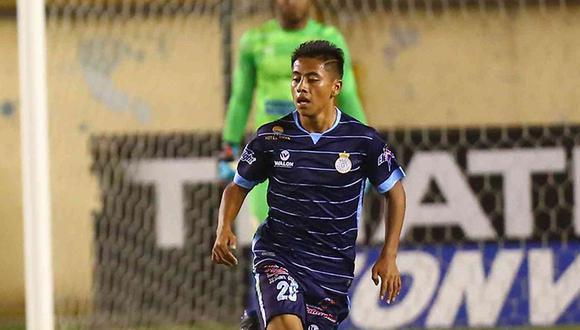 Alexander Lecaros, de 20 años, anotó solo un gol con Real Garcilaso en la temporada 2019. (Foto: GEC)
