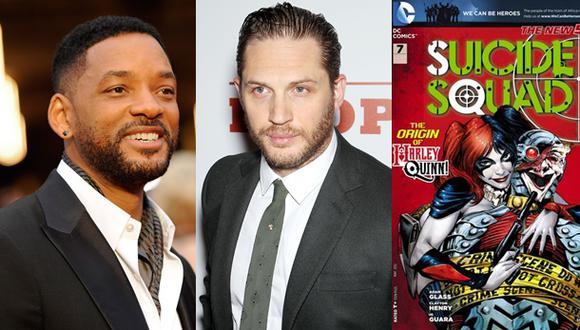 """Will Smith y Tom Hardy podrían formar equipo en """"Suicide Squad"""""""