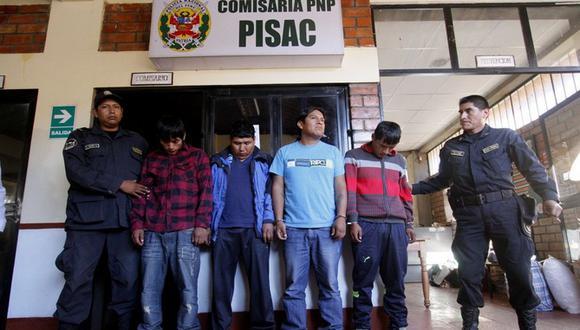 Detienen a presuntos traficantes de billetes falsos