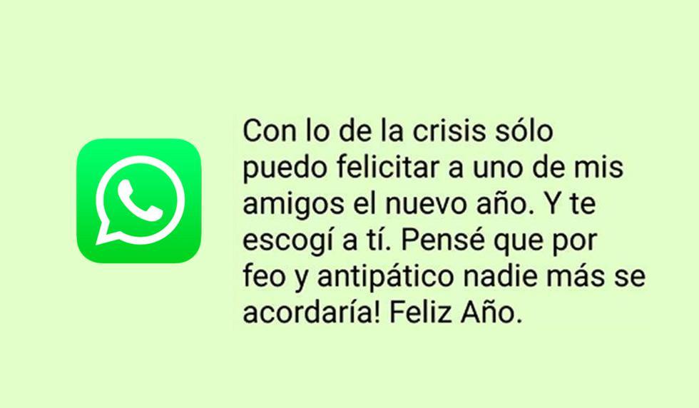 ¿Quieres mandarle mensajes creativos por WhatsApp por el Año Nuevo 2020 a tus amigos? Entonces estos son los que puedes tener. (Foto: Peru.com)