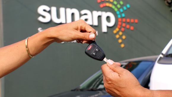 En cuanto al SID-Sunarp se registraron 112,927 vehículos. (Foto: Sunarp)