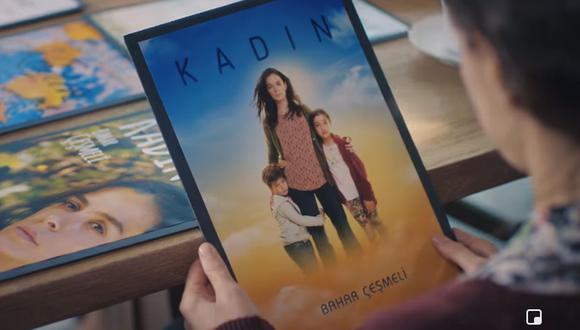 """Según la telenovela turca, en la obra """"Kadin"""" se refleja todo lo vivido por Bahar. (Foto: Fox Turquía)"""