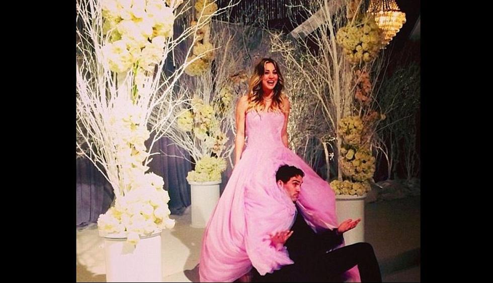 """Así fue la boda de 'Penny' de """"The Big Bang Theory"""" [FOTOS] - 1"""