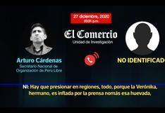 """Secretario de Perú Libre sobre Verónika Mendoza y el Frente Amplio: """"Estamos restándole más gente a esos"""" [AUDIO]"""