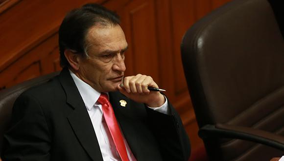 """""""Entiendo que hay congresistas que quieren avasallarnos, no lo van a lograr"""", señaló Becerril. (Video: Congreso / Foto: Archivo El Comercio)"""