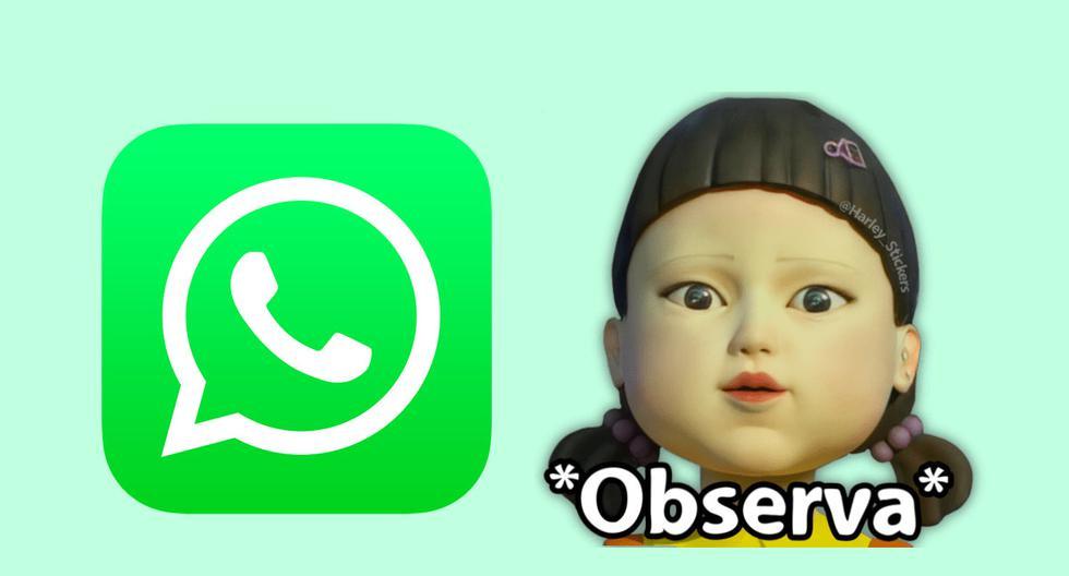 El juego del calamar: descarga aquí los stickers de WhatsApp de la serie de Netflix