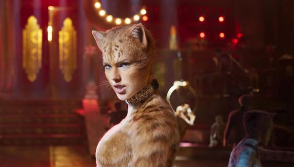 """La película """"Cats"""" es una de las favoritas para los premios Razzie. (Foto: Difusión)"""