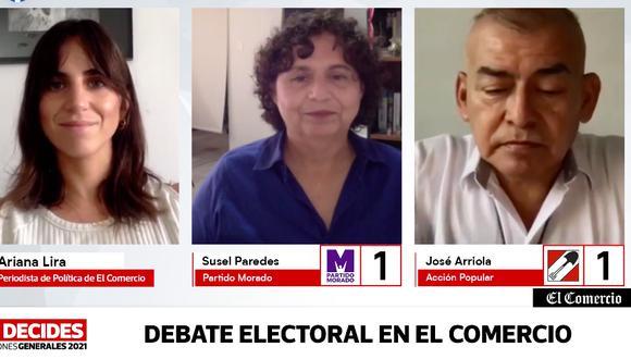 Continúan los debates electorales en El Comercio