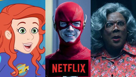 """Las nuevas aventuras de """"El autobús mágico"""", la sexta temporada de """"The Flash"""" y el regreso de Tyler Perry como Madea son algunos de los estrenos del 20 de octubre en Netflix (Foto: Netflix / The Flash / Lionsgate)"""