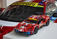 "Descubre el nuevo Ferrari 488 GTE ""AF Corse #51"" de Lego Technic"