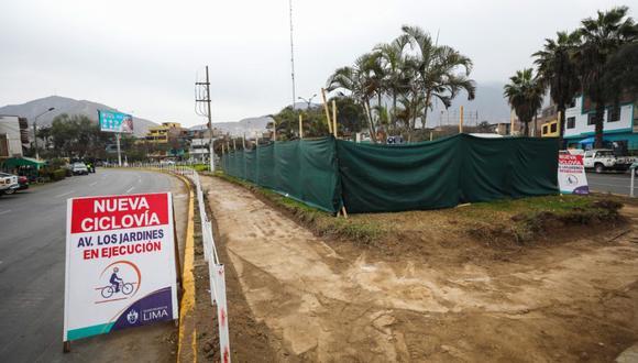 Los trabajos se realizarán durante 90 días e irán desde la Av. Las Flores de Primavera hasta la Av. Santa Rosa de Lima. (Foto: Municipalidad de Lima)