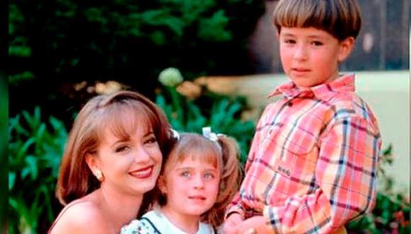 Carlitos y Lisette son los hijos de Paola y Carlos Daniel Bracho, además de un par de favoritos de la telenovela (Foto: Televisa)