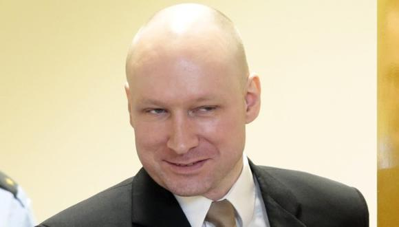 Anders Behring Breivik, asesino de Noruega. (AP)