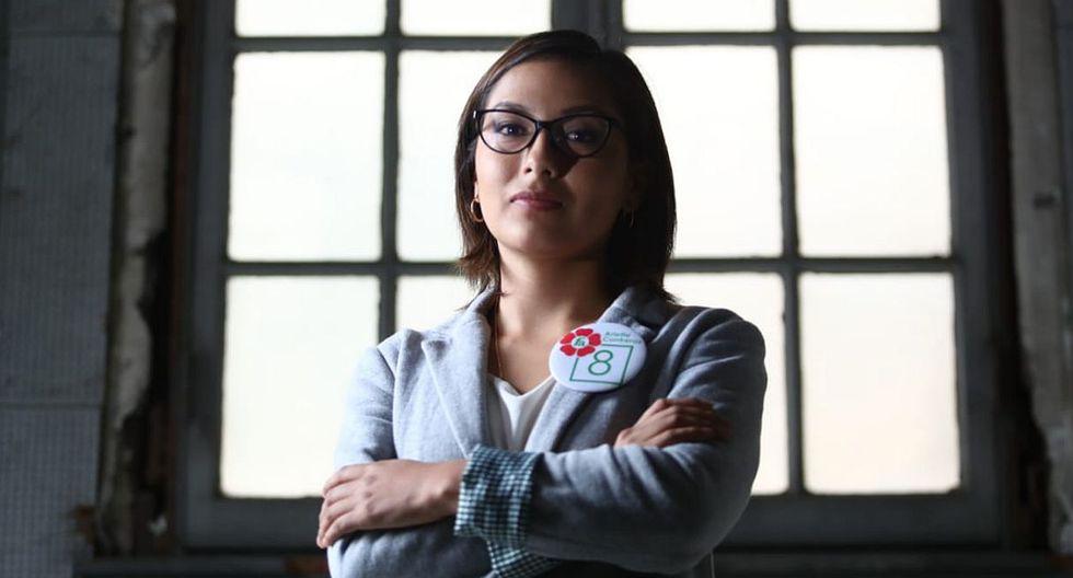 Arlette Contreras espera que su postulación al Congreso incentive a más mujeres a participar en política. (Foto: Alessandro Currarino / GEC)