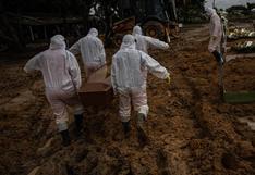 Brasil se acerca a los 250.000 muertos por coronavirus tras registrar 1.428 decesos en un día