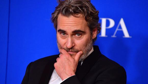 """Joaquin Phoenix está nominado a Mejor actor en los Oscar 2020 por """"Joker"""". (Foto: AFP)"""