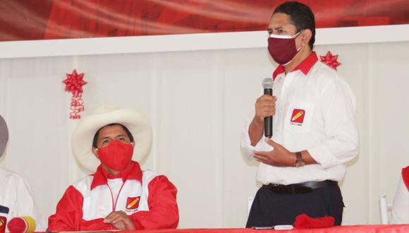 """Vladimir Cerrón respaldó la postura de Pedro Castillo a favor de un indulto a Antauro Humala """"por un exceso de carcelería"""". (Foto: Perú Libre)"""