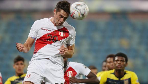 Santiago Ormeño jugó la Copa América con Perú. (Foto: REUTERS)