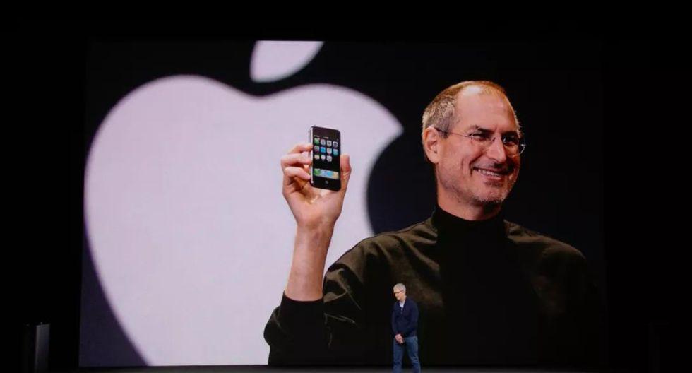 Las conferencias de Apple son acompañadas con imágenes y videos. (Foto: Apple)
