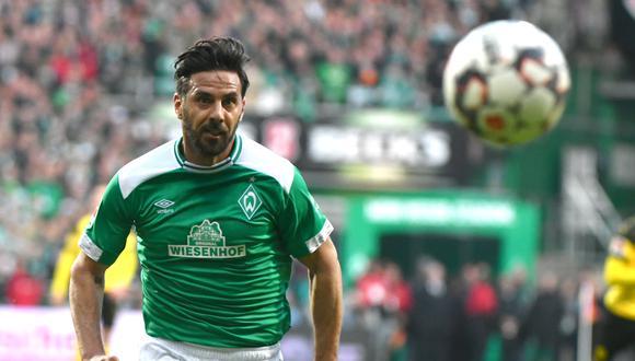 Pizarro lleva 197 goles en el campeonato alemán. (Foto: AFP)