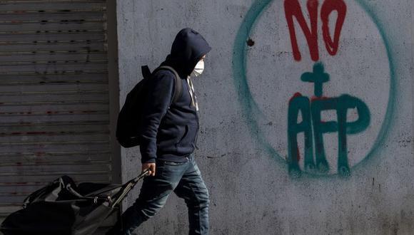 El Gobierno de Chile informó este lunes de 2.099 nuevos casos de coronavirus durante las últimas 24 horas. (Foto: Martin BERNETTI / AFP).