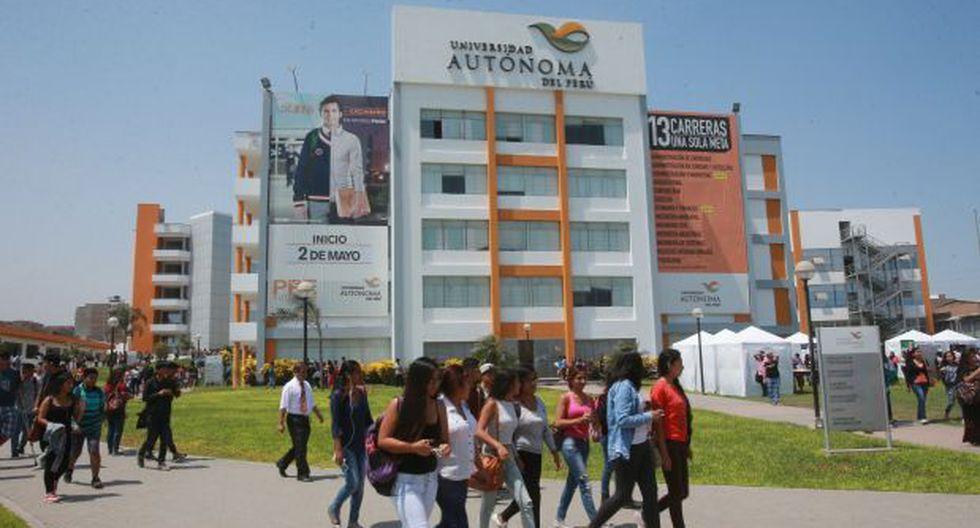 Indecopi abre procedimiento sancionador a Universidad Autónoma