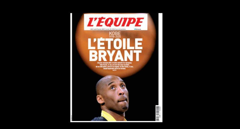La portada de L'Équipe. (Foto: Difusión)