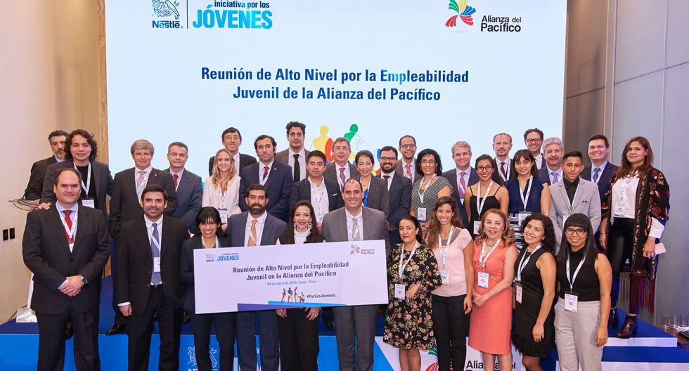 El pasado 4 de abril, Nestlé organizó la 1ra Reunión de Alto Nivel por la Empleabilidad Juvenil de la Alianza del Pacífico, con el objetivo de encontrar soluciones conjuntas.