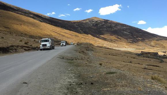 Este hecho ocurre luego de una semana del desbloqueo de 10 tramos interrumpidos por las comunidades de Chumbivilcas (Foto: MMG Las Bambas)