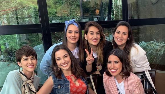 """Yidda Eslava, Natalia Salas, Maricarmen Marín, Anahí de Cárdenas, Marisol Aguirre, son solo algunas de las actrices que regresan en esta esperada secuela, """"No me digas solterona 2"""". (Foto: Cinecolor)"""