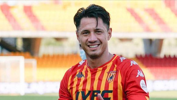 Gianluca Lapadula se hizo presente en el marcador con el Benevento. (Foto: EFE)