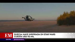 Suecia: Nave con diseño inspirado en Star Wars vale 92 mil dólares
