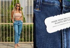 Conoce la propuesta de jeans fabricados con residuos de botellas recicladas