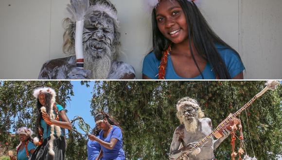 El gesto del anciano fue aplaudido por su nieta, que culminó con éxito sus estudios en una ciudad a varios kilómetros de distancia de su aldea natal. (Foto: ABC News Australia)