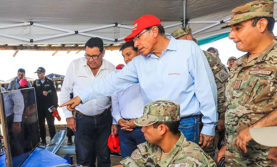 José Huerta fue nombrado como ministro de Defensa de Martín Vizcarra y ratificado pese al cambio de gabinete. (Foto: Difusión)