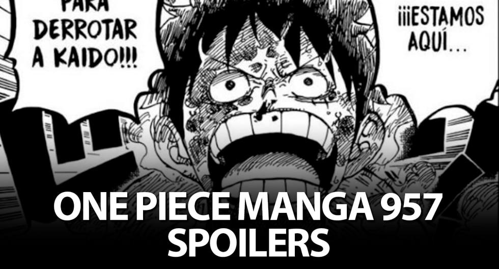 Estos son todos los spoilers que veremos en el manga 957 de One Piece.   Shonen Jump